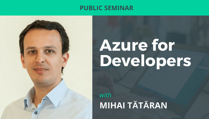 Azure for Developers seminar