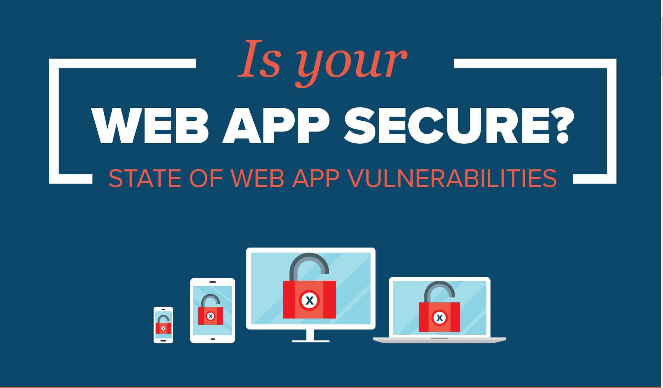 Web Application Security Infographic