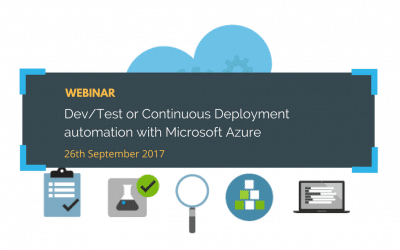 Webinar: Dev/Test or Continuous Deployment automation with Microsoft Azure