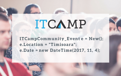 The last ITCamp Community Event of 2017 in Timisoara