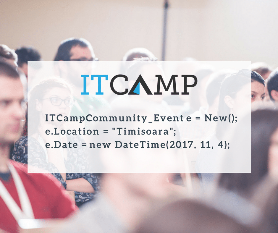 avaelgo at itcamp community event nov 2017