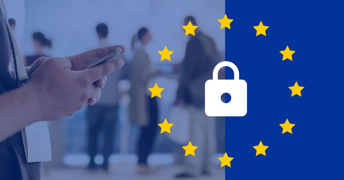 How build a GDPR-compliant conference or event