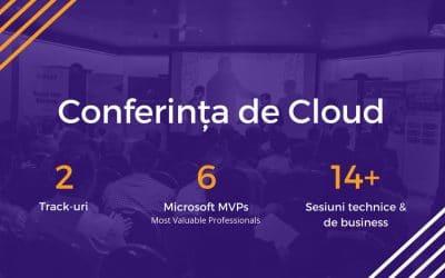 Conferința de Cloud 2018 a avut loc pe 19 aprilie 2018