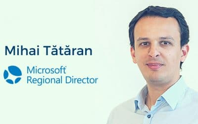 Mihai Tătăran, nominated & accepted as Microsoft Regional Director