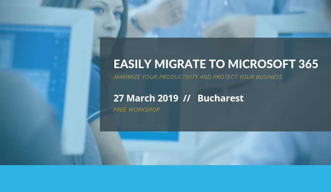 Free Workshop: Easily migrate to Microsoft 365