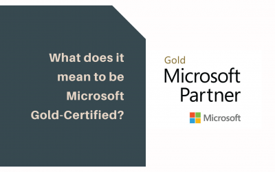 What Does it Mean to be a Microsoft Gold-Certified Partner?